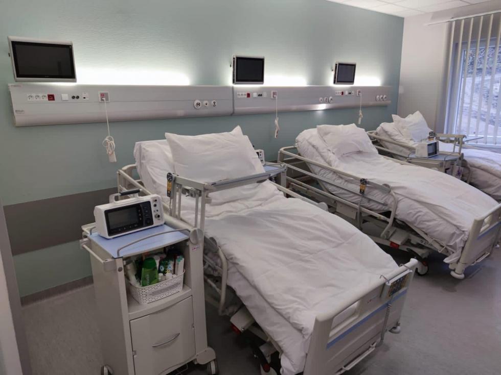 Modułowy szpital wBolesławcu otwarty dla pacjentów