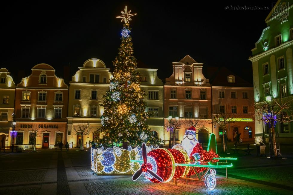 Dekoracje świąteczne wBolesławcu