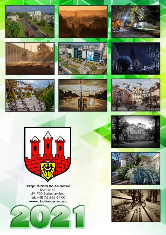 Konkursowe zdjęcia wkalendarzu miejskim