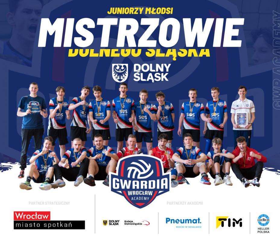 Gwardia Wrocław Academy - Juniorzy Młodsi najlepsi