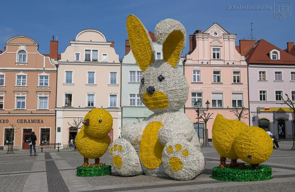Wielkanocne akcenty wBolesławcu