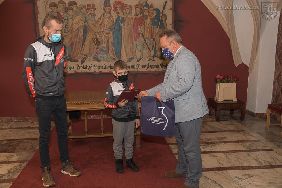 Laureaci nagrody za promocję Bolesławca w2020 roku  - WYRÓŻNIENIA