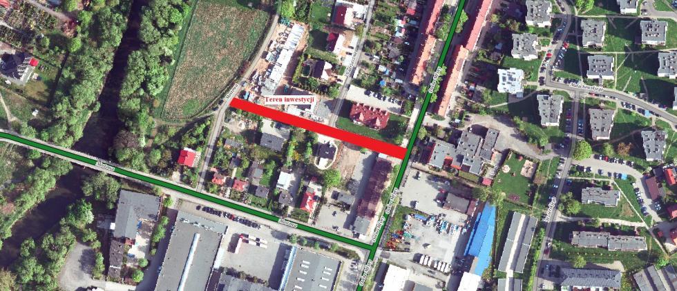 Budowa drogi przy ul. Nadrzecznej wBolesławcu