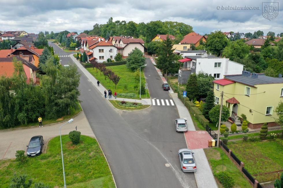 Nowy chodnik na ul. Różanej