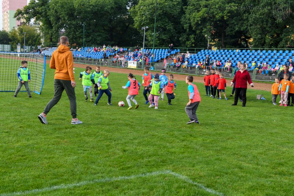 Piłkarskie święto przedszkolaków